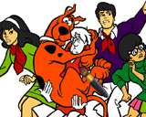 Scooby Doo Coloring Game