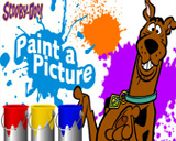 scooby doo painting game